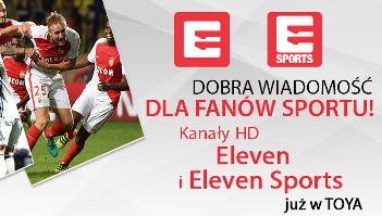 Kanały Eleven i Eleven Sports