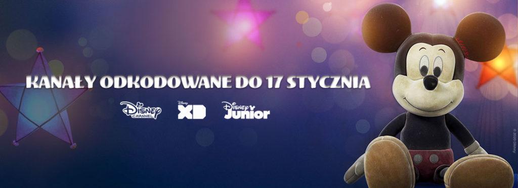 odkodowane kanały Disney